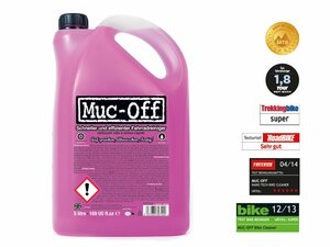 Fahrradreiniger Muc Off Bike Cleaner 5 litre ( German Version ) pink 5000
