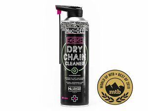 Trockenreiniger Muc Off E-Bike Dry Chain Cleaner 500Ml German Version Pink 500